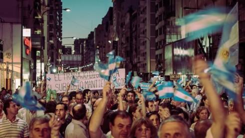 Manifestacions a l'Argentina. Font gràfica: unitedexplanations.com