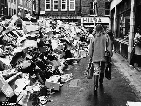 """Imatges del """"Winter of Discontent"""" que va sacsejar el Regne Unit el 1979"""