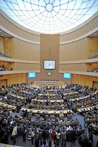 Seu de l'Unió Africana a Addis Abeba, capital d'Etiòpia - font: The  Guardian